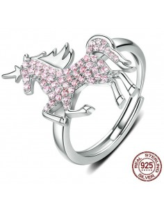 "Bague femme ""Cute unicorn"""