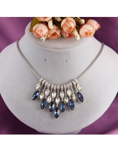 collier femme glamour